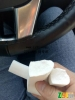 化妆棉(泥胶)边角料(不含乳胶)