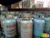 废旧煤气罐