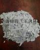 PVC白扣板粉碎料,扣板破碎料