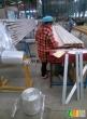 供应铝材PVC木纹料热收缩膜