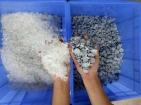 點滴瓶破碎清洗造粒設備,橡膠自動分離