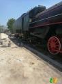 绿皮火车车厢,蒸汽火车头