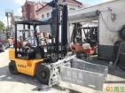 杭州三吨四米平夹叉车