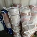 布条切边料,白色成盘牛津布条,大棚压膜带,成盘杂色单层布条