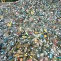 废玻璃普白瓶料