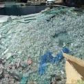 废玻璃钢化料