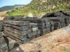 废钢、煤矿,园林栈道专用枕木