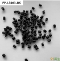 牌號PP-LB103-BK:再生PP/黑色/密度0.96/沖擊14/熔指12/灰分6/高沖PP