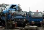 废旧大型货车