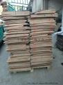 钻孔废木垫板