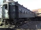 废旧火车厢