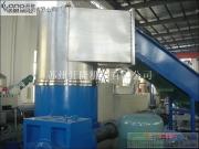 废旧塑料全自动压实仓水环切粒生产线
