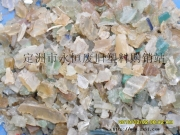 软PVC再生微黄颗粒料