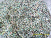 PVC软绿色磨粉料