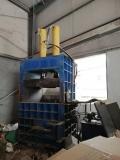 供应九成新立式液压打包机
