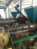 供应二手PE造粒机(1台  可日产4.5吨粒子)