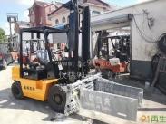供应杭州三吨四米平夹叉车