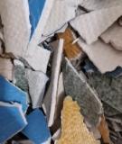 供应PVC商务地板边角料