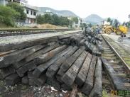 供应供应枕木,适用于煤矿,园林景观,垫木等