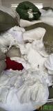 求购纯干白色涤纶造粒布,涤纶废布,废丝
