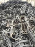供应废尼龙轮胎胎底胶柴 适合生产再生黑色尼龙料粒