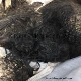 求购国产进口涤纶.尼龙优质黑色长丝废丝