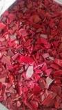 供应供应HDPE红色啤酒箱破碎料