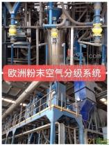 供应二手欧洲粉末空气分级系统