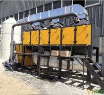 供应纸厂料造粒废气环保设备