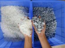 废塑料破碎清洗机,LDPE工业膜塑料再生