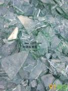 供应大量平板碎玻璃