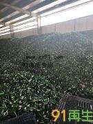 供应大量绿色酒瓶