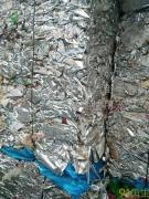 飞机铝饭盒压块,干净,没有水份