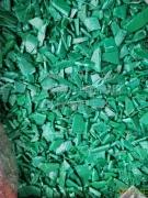 绿色啤酒筐破碎料