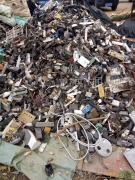 专业回收带铜铁的电线挂头