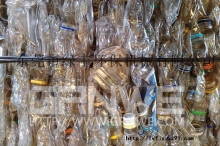供应输液瓶,点滴袋粉碎清洗造粒,专业医疗瓶回收