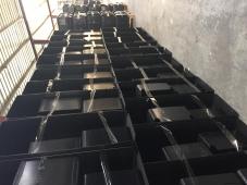 知音塑胶厂家供应pc/abs合金黑色鼠标焊丝盘【盘子料】7500元/吨