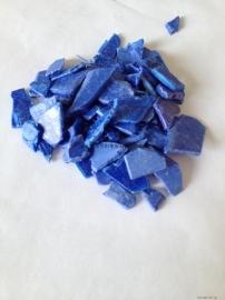 蓝色PS破碎料