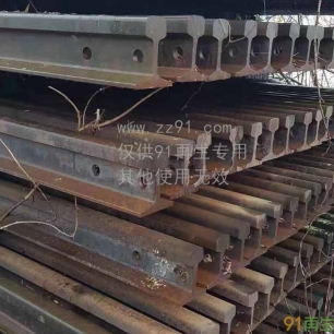 供应欧洲R50/R65废旧钢轨