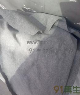 供应麻灰色拼接擦机布