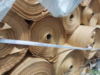 供应卷筒淋膜包装纸(现货25吨)