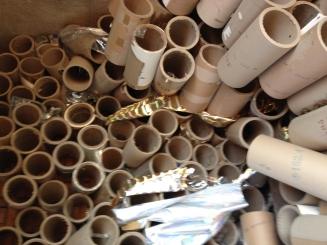 供应废纸芯管