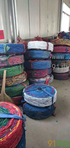 供應PET布條繩(用于網邊繩,捆綁瓦片)