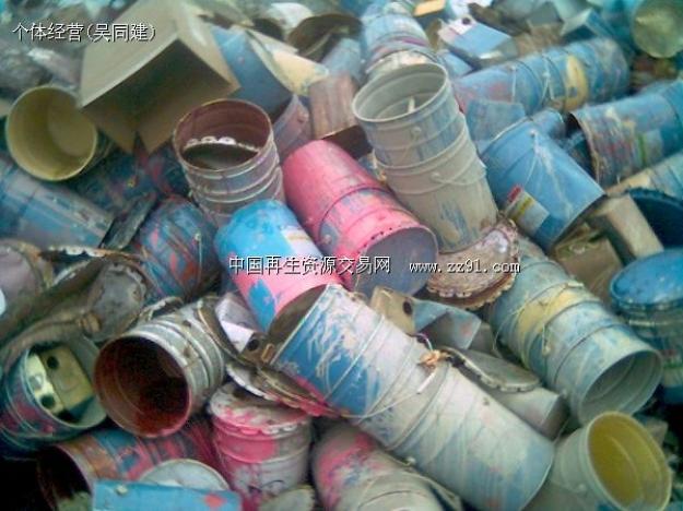 供应废油漆桶_废油漆桶图片相册-zz91再生网