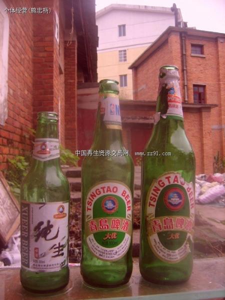 供应青岛啤酒瓶,玻璃瓶