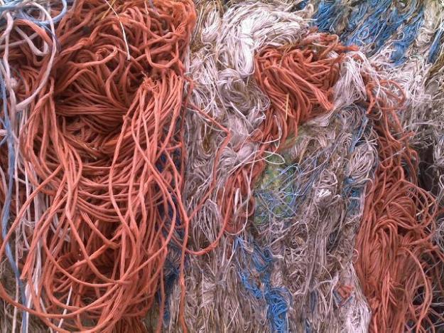 渔网式吊床编织方法