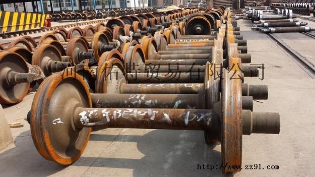 供应废旧火车轮
