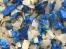 HDPE蓝白桶粉碎料破碎料